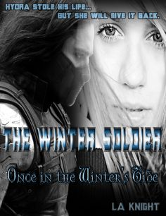 The cover for my Winter Soldier fanfic, Once in the Winter's Tide (https://www.fanfiction.net/s/10558591/1/Once-in-the-Winter-s-Tide).