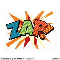 Comic Book Pop Art ZAP!