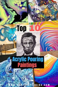 Top 10 Acrylic Paint Pouring Posts May 2019 Acrylic Paintings Flow Painting, Acrylic Painting Lessons, Acrylic Painting Tutorials, Pour Painting, Acrylic Paintings, Oil Paintings, Acrylic Pouring Techniques, Acrylic Pouring Art, Acrylic Art