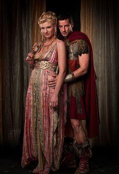 Claudius & Ilithyia, Spartacus: Blood & Sand.