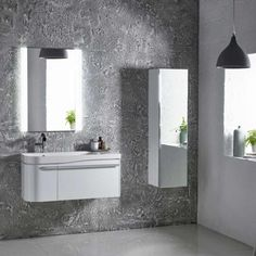 Shop The Spacesaving Cirrus Range At Drench. The Roper Rhodes Cirrus Left Hand Vanity Unit - Comes with A 10 Year Guarantee. Sink Units, Vanity Units, Roper Rhodes, Left Handed, Bathroom Lighting, The Unit, Furniture, Home Decor, Bathroom Light Fittings