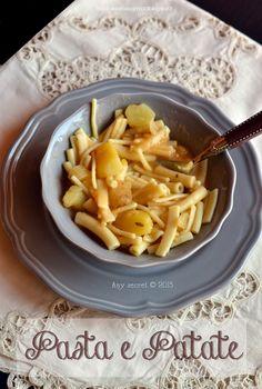 Pasta e patate: un piatto della nonna