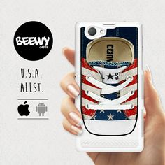 Converse Phone case ALL STAR Sony xperia z3 compact case by Beewy