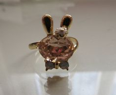 Crystal Rabbit Ring