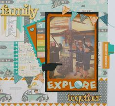 Designed by Dorothy for The Urban Scrapbook