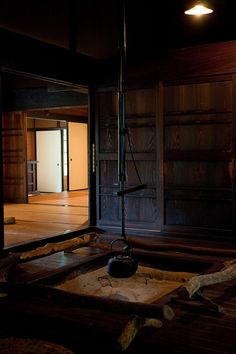 Japanese old farm house - reminds me of my uncle & aunt's old house in Yokohama...