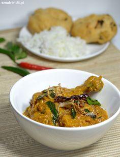 Keralskie curry z kurczaka (Nadan Kozhi Curry) Curry, Ethnic Recipes, Food, Meal, Essen, Hoods, Curries, Meals, Eten