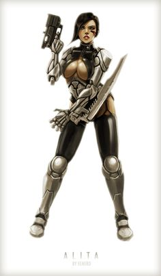 Alita Battle Angel by elhero.deviantart.com on @DeviantArt