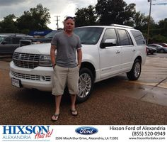 https://flic.kr/p/wVXsLq | #HappyAnniversary to Paul  and your 2012 #Lincoln #Navigator from Andrew Montreuil at Hixson Ford of Alexandria! | www.deliverymaxx.com/DealerReviews.aspx?DealerCode=UDRJ