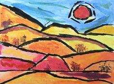 landscape paul klee - Google Search