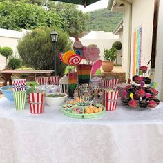 Our Candy Land Party I was looking for an easy theme and I definitely found it, Candy Land was so fun and simple to plan and execute, . Candy Land, Table Decorations, Simple, Party, Fun, Life, Home Decor, Decoration Home, Room Decor