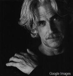 Sam Elliot  - that epic stache and that voice... since I was younger I had a crush om him ;-)