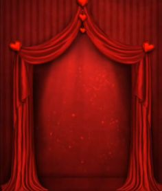 The red curtains begin to part Projecting the Ark which only worthy eyes may see. The red veil begins to lift Illuminating the golden lamp stand and the true light of the world.