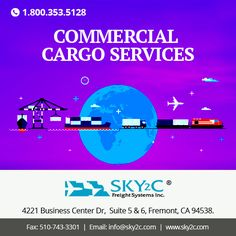 Are you looking for affordable and cost effective #international #cargo #shipping for your commercial goods ? Sky2c freight system is a best place to fulfill your requirement. contact us for domestic and international cargo delivery .