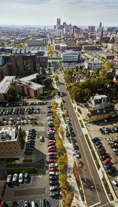 Linear Park in Ellicott Buffalo Niagara Medical Campus, New York