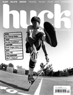 HUCK magazine, April/May 2010