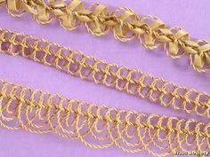 Bögli and Flader Ring Maker: Veronica Main Materials: straw threads and split rye straw Plaits, Braid, 2 Ply, Rye, Veronica, Gallery, Fiber, Gold, Jewelry
