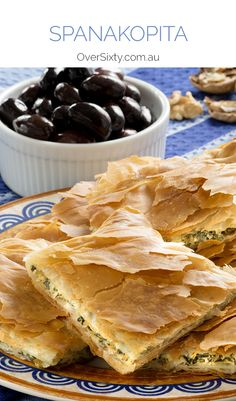 Spanakopita Recipe - this spinach, feta, ricotta and lemon pie is a ...
