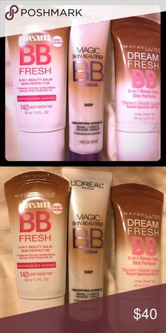 *30% off* 3 new foundation + $9 gift Deep. Sheer deep. Mix and match 20/$130 or 24/$150 Maybelline Makeup Foundation
