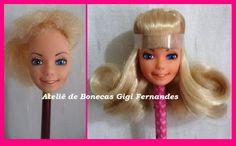 Reroot Barbie Estrela 80's