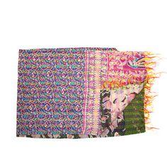 Shripad Kantha Scarf now featured on Fab.
