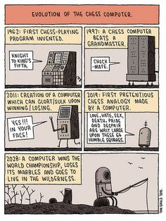 Chess Computers by tom gauld, via Flickr