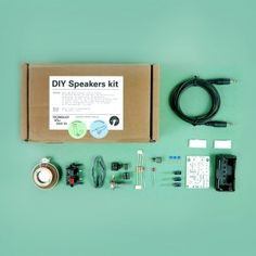 Technology Will Save Us - DIY Speakers Kit
