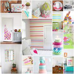 BLOG | DIY - 50 dingen die je kunt doen met washi tape - www.hemelsblauw.net