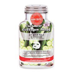 Mặt nạ Collagen dưa leo Purederm 19ml - Mặt nạ Collagen dưa leo Purederm 19ml làm sạch da, bổ sung dưỡng chất. Giá tốt nhất tại Adayroi. Cam kết chất lượng. Giao hàng miễn phí trong 6 tiếng. Mua ngay!  - http://kepgiay.com/uu-dai/mat-na-collagen-dua-leo-purederm-19ml/