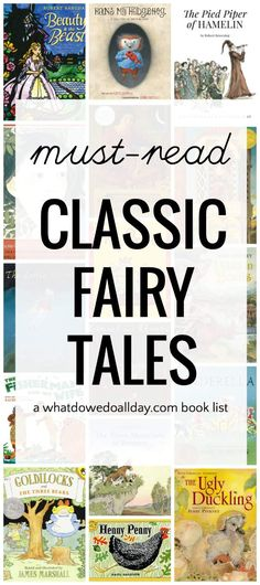 Classic fairy tale picture books every child and family should read.