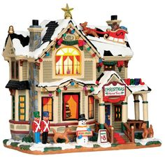 Lemax Christmas Home Tour SKU# 55932. Released in 2015 as a Lighted Building for the Caddington Collection.