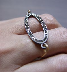 Galaxy Pave Diamond Ring by friedasophie on Etsy, $65.00