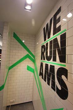 WE run AMS