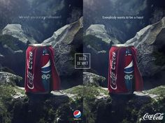 Propaganda original Pepsi / Resposta da Coca-Cola 😂  #Marketing #Publicidade #Propaganda #Ad #CocaCola #Coke #Pepsi