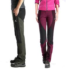 Women's Spring / Autumn / Winter Hiking Pants PantsWaterproof / Breathable / Insulated / Rain-Proof 2-18 2015 – $33.99