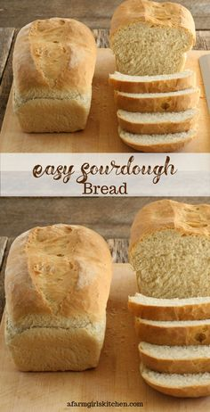 Sourdough is one of my favorite types of bread. This bread is fairly simple to make and quite enjoyable sliced for sandwiches or toast. Sourdough Bread Machine, Easy Sourdough Bread Recipe, Sourdough Starter Discard Recipe, Best Homemade Bread Recipe, Homemade Breads, Recipe Breadmaker, Yeast Bread, Bread Maker Recipes, Sandwich Bread Recipes