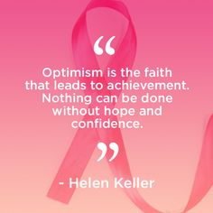 """""""Optimism is the faith that leads to achievement. Nothing can be done without hope and confidence."""" - Helen Keller. XO the eSalon.com team"""
