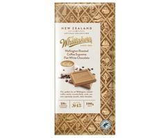 Whittakers Wellington Flat White Coffee Chocolate