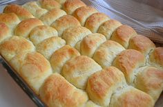 Parker-Parker house rolls...from someone's Grandma Parker...buttery good!