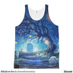 Allhallows Eve All-Over Print Tank Top