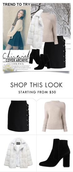 """""""Chicwish"""" by firecherry ❤ liked on Polyvore featuring Chicwish, Rick Owens, Lilly e Violetta and MANGO"""