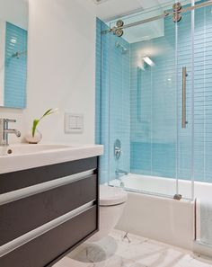 Boston Contemporary - contemporary - bathroom - boston - Ana Donohue Interiors