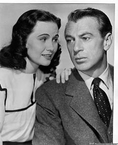 """Casanova Brown"" (1944) - Gary Cooper and Teresa Wright   Very enjoyable movie.  Gary Cooper is quietly humorous and Teresa Wright is so sweet."