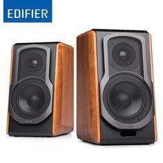EDIFIER S1000DB Bluetooth Bookshelf Speaker W/ Advanced Titanium Dome Tweeters