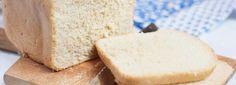 Podstawowy chleb z maszyny przepis Cornbread, Feta, Dairy, Cheese, Ethnic Recipes, Millet Bread, Corn Bread