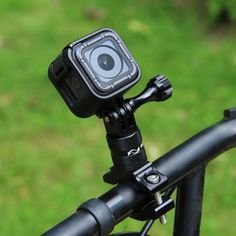 Black Xiaomi Xiaoyi SJCAM Camera Bicycle Handlebar Mount Adapter Motorcycle Rearview Mirror CNC Aluminum Alloy Stent Fixed Bracket Holder for GoPro New Hero //HERO6 // 5//5 Session //4//3+ //3//2 //1