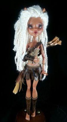 """Custom OOAK """"Parthenia"""" Monster High Doll by Skeriosities™   eBay"""