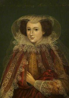 Catherine Killigrew Lady Jermyn in the 35th year of her age by Marcus Gheeraerts the younger, 1614