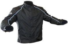 Save $ 12.38 order now Wayloo Solid Design Motorcycle Jacket (Black, Large) at B