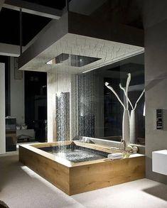 Instagram Dream Bathrooms, Beautiful Bathrooms, Luxury Bathrooms, Modern Bathrooms, Luxury Bathtub, Spa Bathrooms, Master Bathrooms, Bathroom Mirrors, Bathroom Cabinets